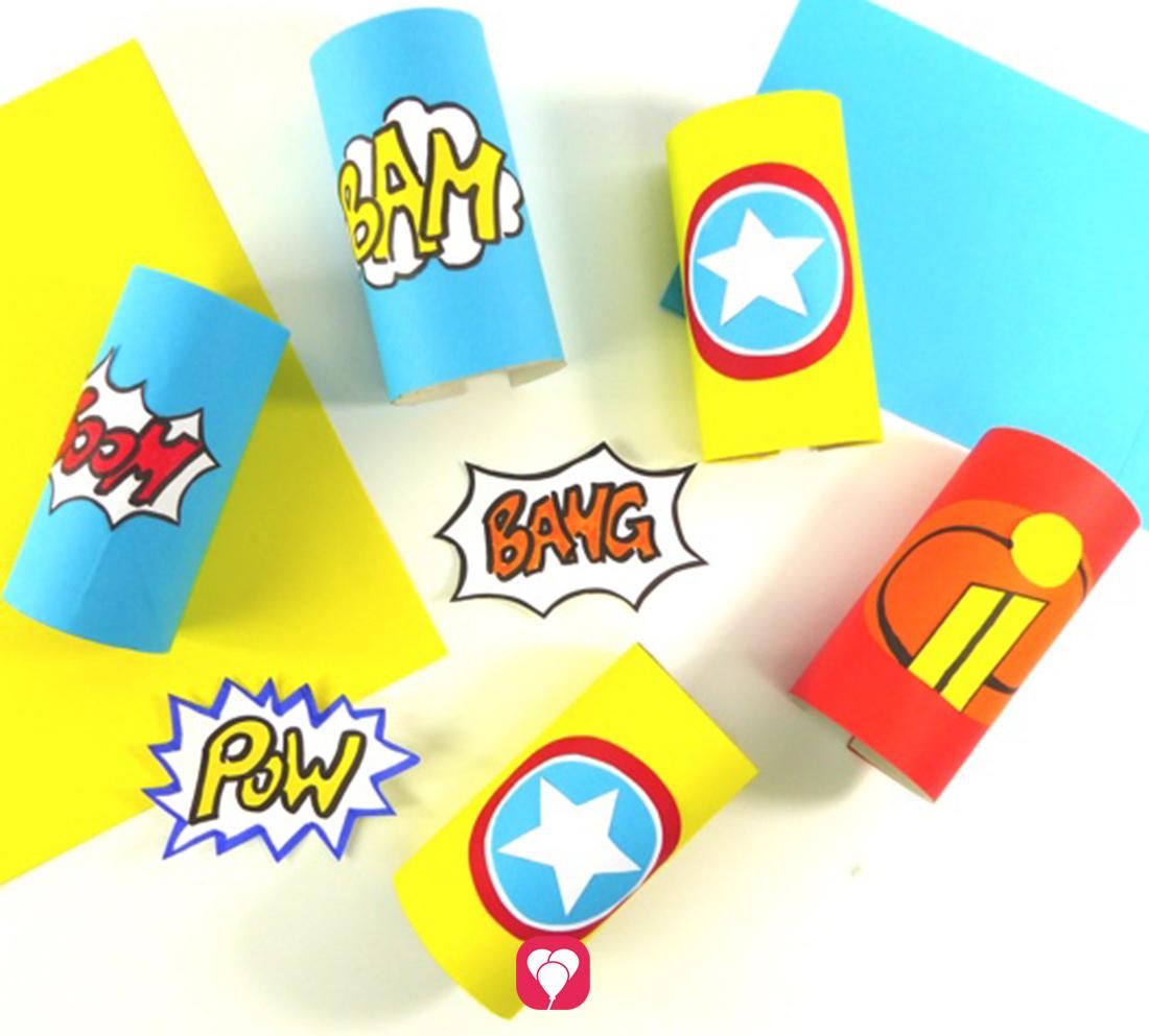 DIY Superhelden Verkleidung