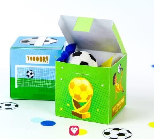 Fußball Geschenkbox - balloonas