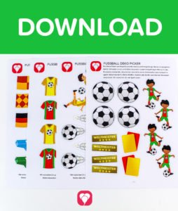 Fußball Deko Picker - Download