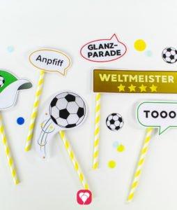 Fussball Photo Booth - balloonas