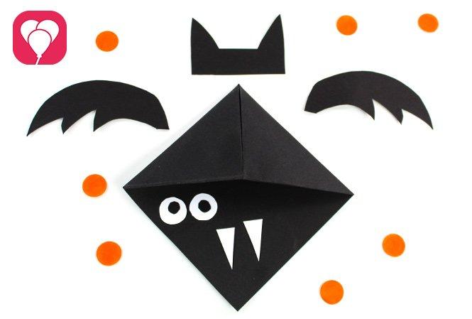 Halloween Einladung - Fledermaus