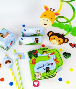 Safari Birthday Package - balloonas