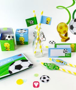 Soccer Birthday Package - balloonas