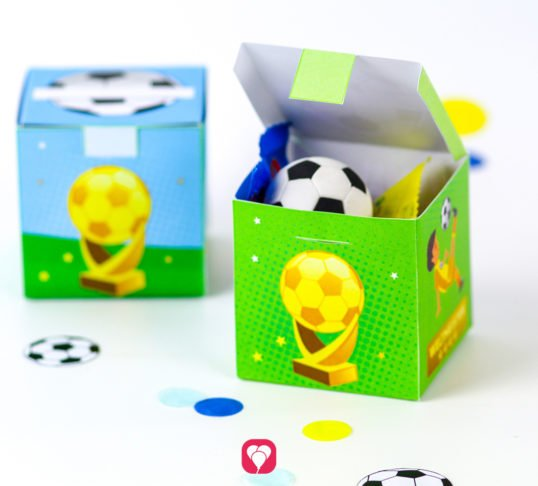 Soccer Gift Box - balloonas