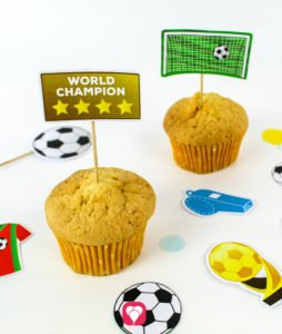 Soccer Party Picks - balloonas