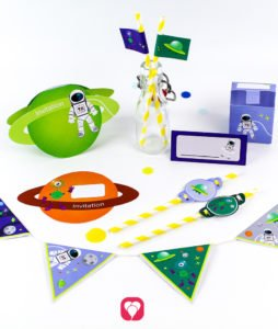 Space Birthday Package - balloonas