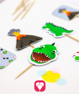 Dinosaur Party Picks - balloonas
