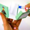 Dinosaur Gift Box - glue