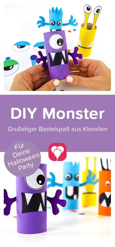 Monster basteln - Pinterest Pin
