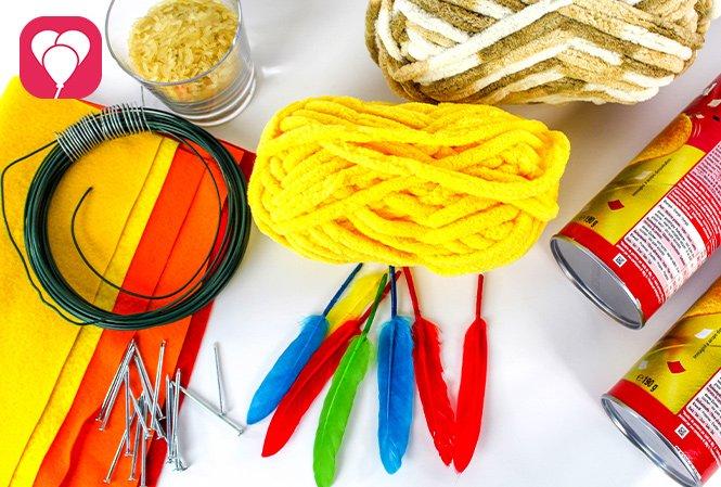 DIY Regenmacher basteln für Indianer Geburtstag - das brauchst Du
