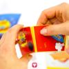 Superhero Candy Bar - fold the box