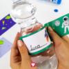 Weltraum Flaschenetiketten und Becherschilder - an die Flasche kleben