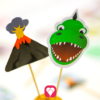 Dinosaur Party Picks - motifs