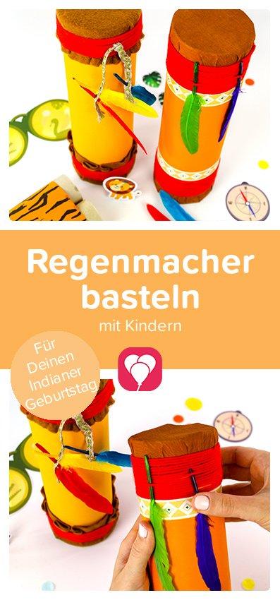DIY Regenmacher basteln - balloonas Pin