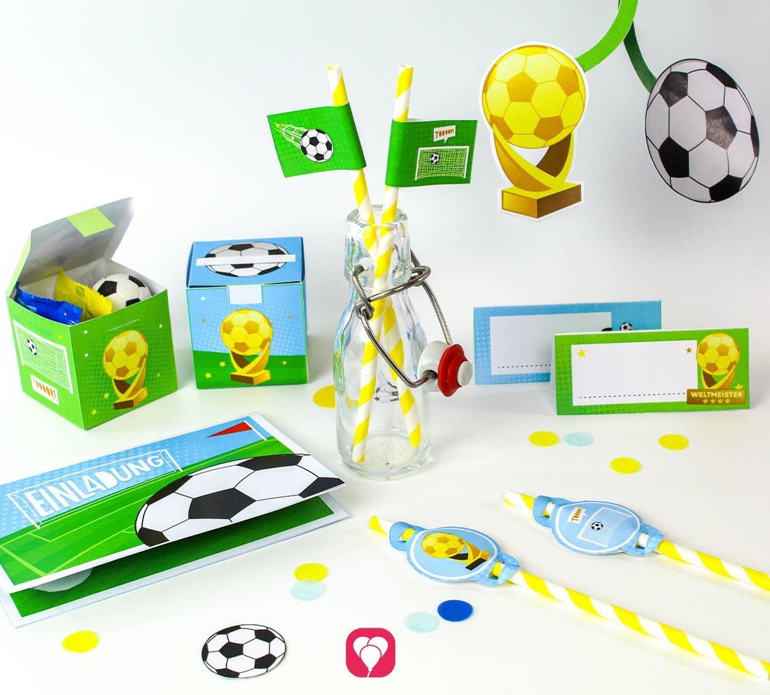 Fußball Geburtstagspaket