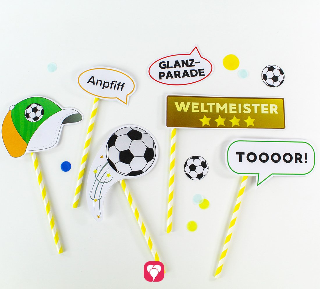 Fußball Photo Booth