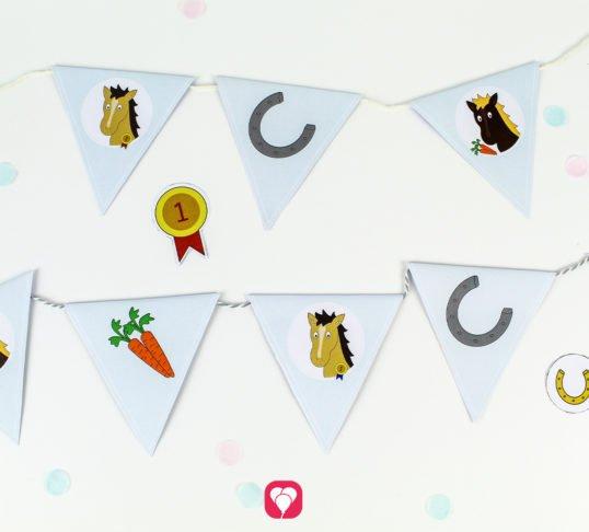 Horse Garland - balloonas