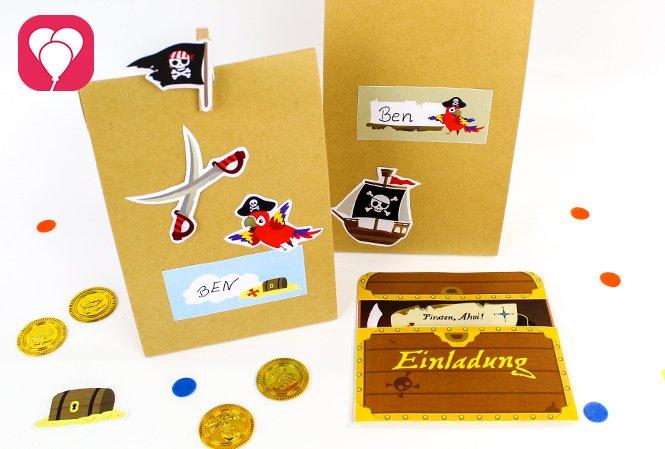 Piraten Geburtstag Set - balloonas