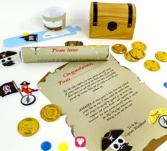 Pirate Treasure Hunt - balloonas