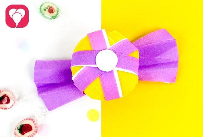 Gasgeschenke verpacken für den Kindergeburtstag - Candy Ball