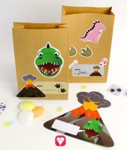 Dino Geburtstagsset Basic - balloonas