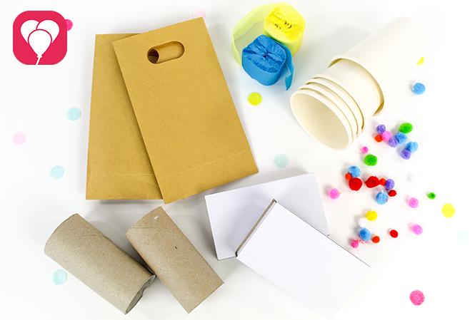 Gastgeschenke verpacken für den Kindergeburtstag - das kannst Du nutzen
