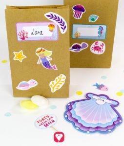 Meerjungfrau Geburtstagsset - balloonas