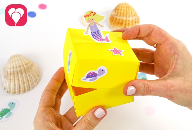 Gastgeschenke verpacken - Meerjungfrau