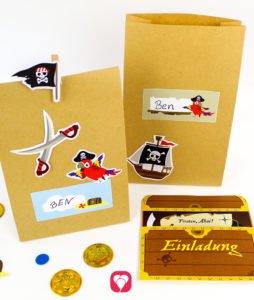 Piraten Geburtstagsset Basic - balloonas