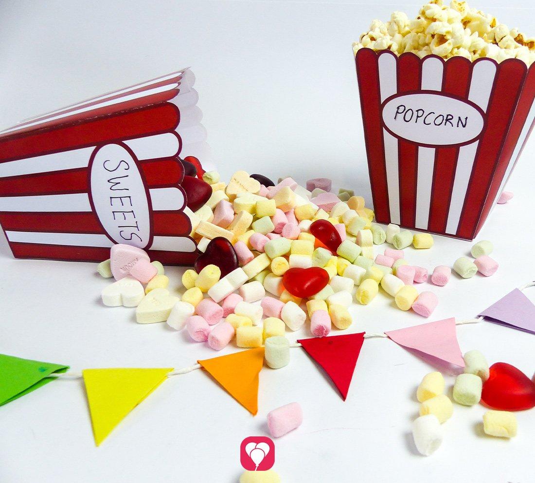 Popcorn Tüte