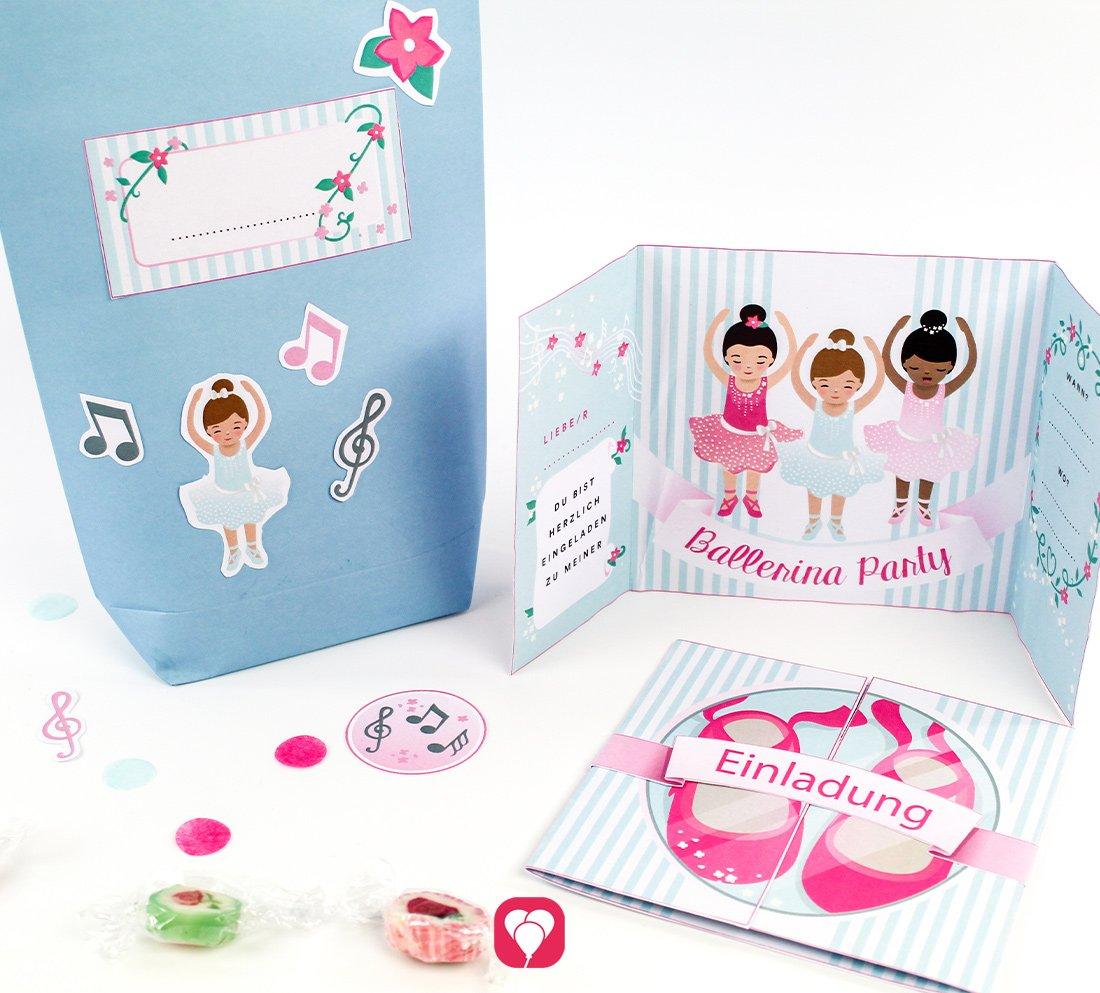 Ballerina Geburtstagsset Basic