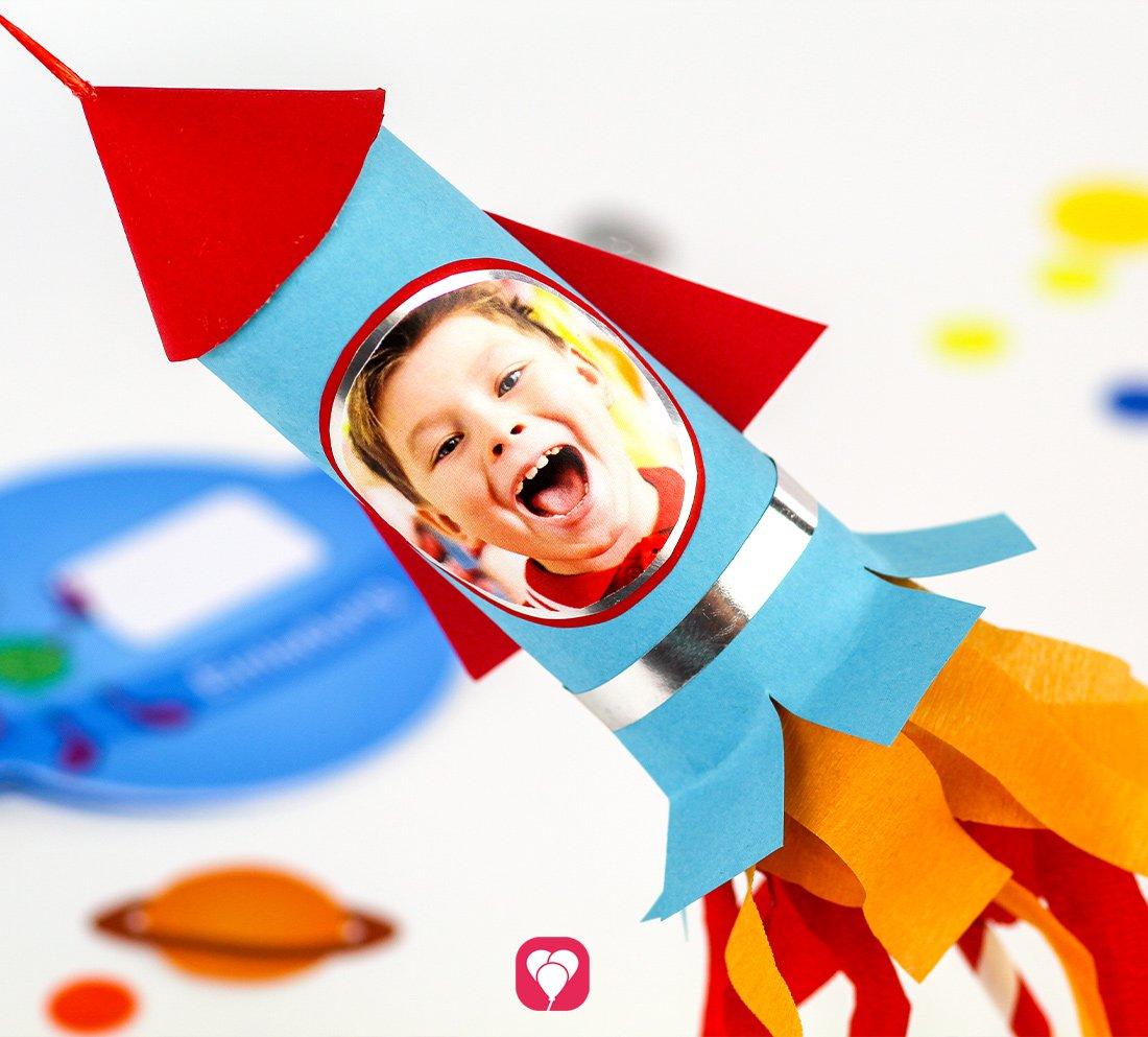 Raketen Geschenkverpackung