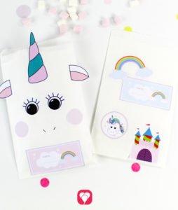 Unicorn Gift Stickers - balloonas