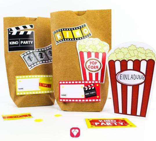 Kino Geburtstagsset Basic - balloonas