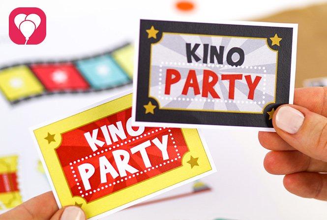 Kindergeburtstag im Kino feiern - Kino Party