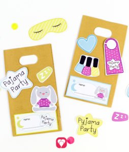 Pajama Party Stickers - balloonas