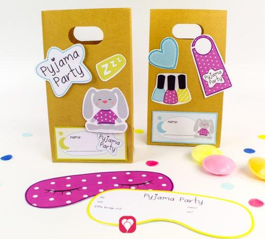 Pyjama Party Geburtstagsset - balloonas