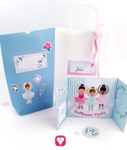 Ballerina Birthday Set - balloonas