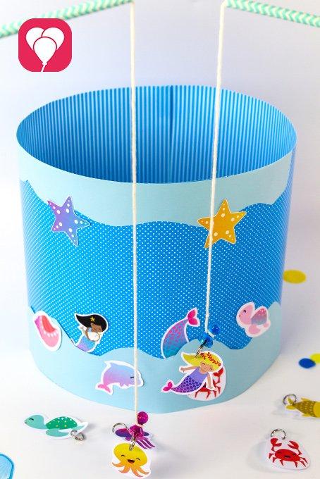 DIY Ideen mit Kindern Meerjungfrau