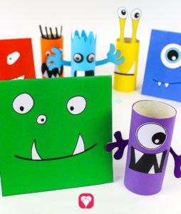 Monster Birthday Set - Monster Cards
