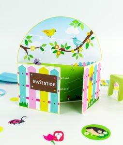 Gardening Party Set - invitation