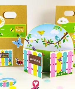 Gardening Kindergeburtstag Set - balloonas