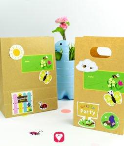 Gardening Stickers - balloonas