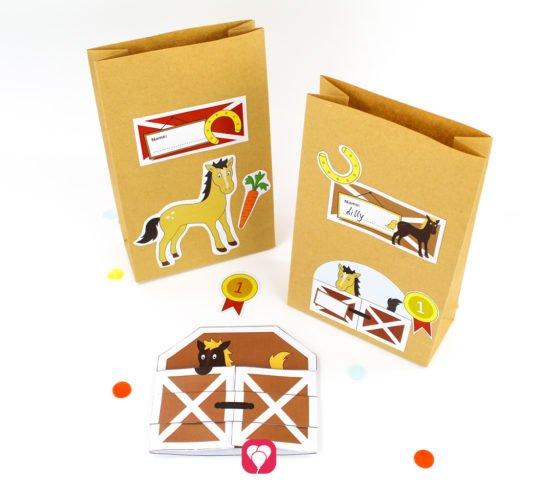 Horse Birthday Set - balloonas