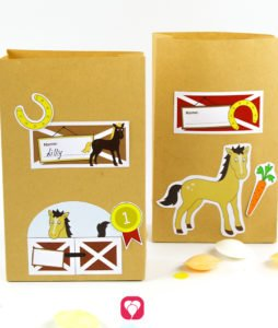 Horse Birthday Set - stickers
