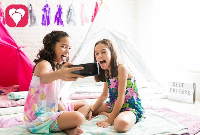 Pyjama Party Spiele - balloonas