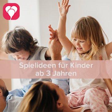 Spielideen für Kinder ab 3 Jahren