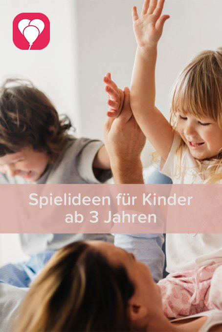 Spielideen für Kinder ab 3 Jahren - balloonas