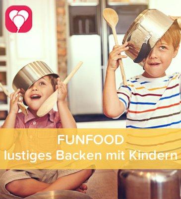 FUNFOOD Backen mit Kindern - balloonas