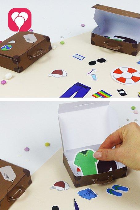 Indoor Spiele Ideen für Kindergarten Kinder - ich packe meinen Koffer mit Dir Spiel